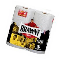 Brawny Paper Towels, Giant Rolls, White 2 ea