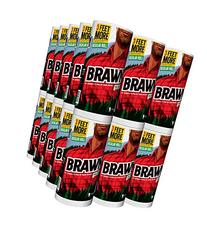 Brawny Individually Wrapped Regular Paper Towels Rolls,