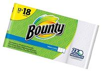 Bounty Paper Towels Select A Size Giant Rolls, 12 ct, 12