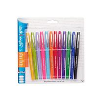 Papermate Flair Porous Point Stick Pens, Assorted Ink,