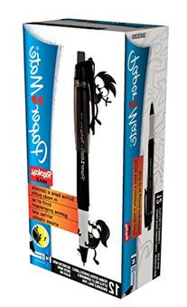 PaperMate Replay Max Eraseable Ball Pen Medium Black - Box