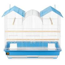 Prevue Hendryx Parakeet Triple Roof Flight Cage For Multiple