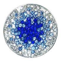 Navika Paris at Night Micro Pave Crystal Ball Marker with