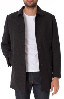 Men's 7 Diamonds Parque Topcoat, Size X-Large - Grey