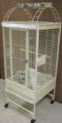 New Parrot Bird Wrought Iron Cage 22x22x60 Play-Top *Egg