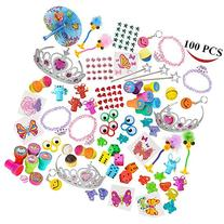 Joyin Toy 100 Pc Party Favor Toy&Accessory Assortment for