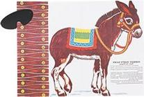 Amscan Carnival Fair Fun Pin The Tail On The Donkey Game