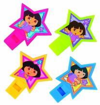 Dora the Explorer Party Whistles 4 Pack