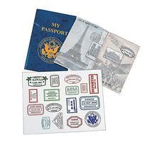 PASSPORT STICKER BOOK  - BULK