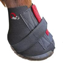 Cavallo Pastern Wrap for Horse Hoof Boot, Medium, Black