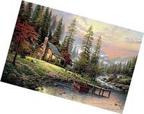 Van Eyck Pastoral Scenery Printed Landscape Oil Painting