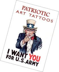Patriotic Art Tattoos