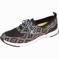 Paul Sperry Women's Ripple Rush Boat Shoe Black