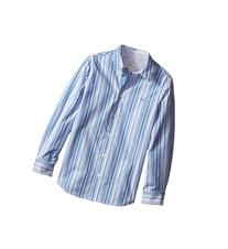 Paul Smith Junior - Blue/White Striped Shirt   Boy's