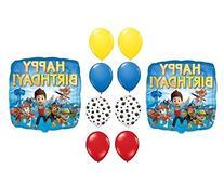 PAW Patrol Happy Birthday Balloons Supplies