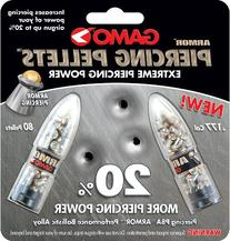Gamo PBA Armor .177 Cal, 6.8 Grains, Domed, 80ct