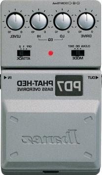Ibanez PD7 Bass Phat-Hed Distortion Pedal