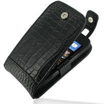 PDair Leather Case for Nokia Lumia 710 - Flip Top Type