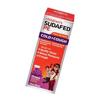 Children's Sudafed Pe Cold & Cough Non-Drowsy Liquid-Grape-4