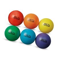 MAC-T PE07925E Sup-R-Safe Volleyballs, Assorted Colors, Set