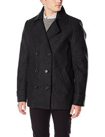 Calvin Klein Men's Peacoat, Charcoal Grey, Small
