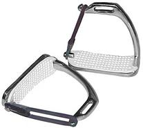 Derby Originals Peacock Safety Stainless Steel Stirrup Irons