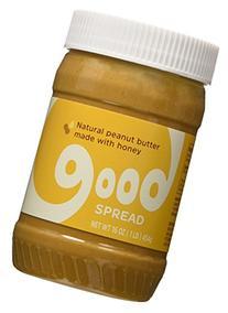 Good Spread Honey Peanut Butter - Natural Peanut Butter,