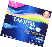 Tampax Pearl Palstic Tampons, Triplepack, Light/Regular/