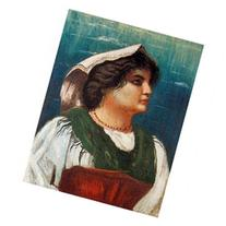 The Peasant Woman by Giorgio De Chirico Painting, 61cm x 45.
