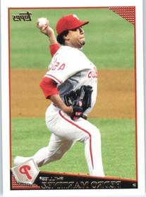 Pedro Martinez - Philadelphia Phillies - 2009 Topps Update