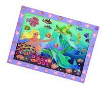 Melissa & Doug Peel and Press Sticker by Number Kit: Mermaid