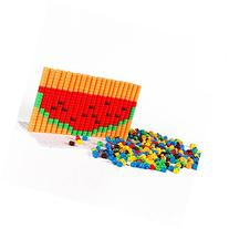 Peg Toys Set Vidatoy Pegboards 2D&3D Magic Color Beans