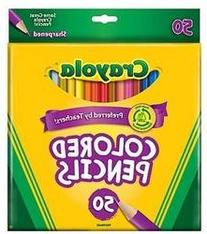 Colored Pencils box of 50