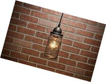 Pendant Light - Mason Jar Light - Pendant Lighting - Pendant