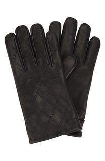 Men's Original Penguin Quilted Leather Gloves, Size Small/