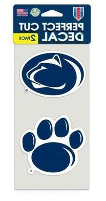 Ohio State Buckeyes NCAA 4x4 each Die Cut Car Decal 2-Pack