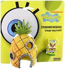 Penn Plax SpongeBob and Pineapple House Aquarium Ornament, 2