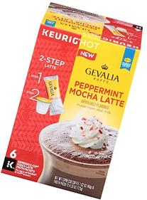Gevalia Peppermint Mocha Latte and Espresso K Cup Pods with