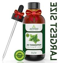 Peppermint Oil - Highest Quality Therapeutic Grade Backed by
