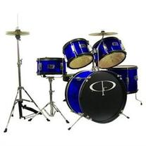 GP Percussion GP55BL 5-Piece Junior Drum Set with Cymbals