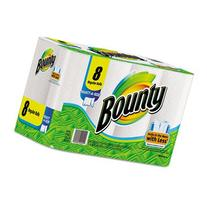 Perforated Paper Towels, 9 x 10 2/5, White, 8 - 77 Sheet