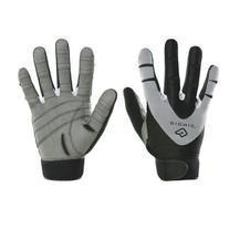 Bionic Men's PerformanceGrip Full Finger Fitness Gloves, X-Large, Black/Grey