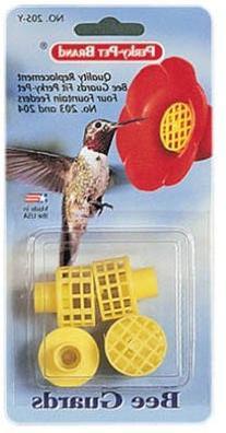 Perky Pet Yellow Bee Guards
