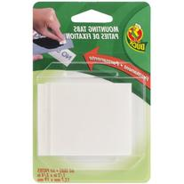 Duck Brand Permanent Foam Mounting Tabs, Double-Sided, 60-