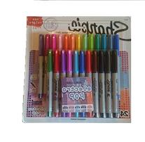 Sharpie Permanent Markers Ultra Fine Point - Assorted Colors