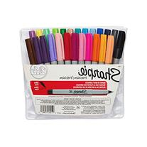 Sharpie Permanent Markers, Ultra Fine Point, Assorted Colors