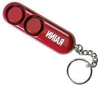 SABRE Personal Self-Defense Safety Alarm on Key Ring with