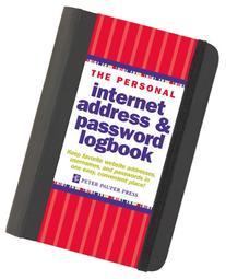 The Personal Internet Address & Password Log Book