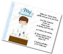 Personalized Communion Invitations