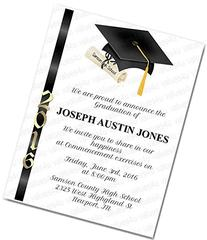 Personalized Graduation Commencement Invitation